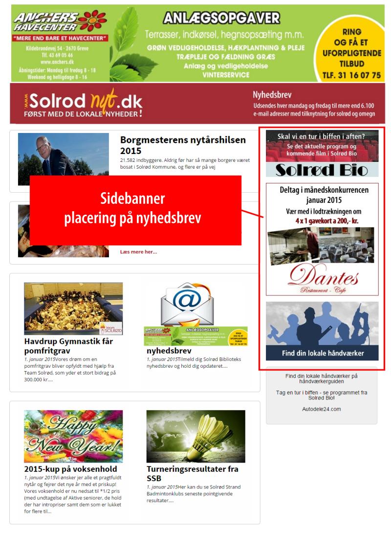 Annoncer solrodnyt.dk Produktnyt